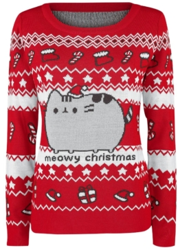 Pusheen Meowy Christmas Sweater