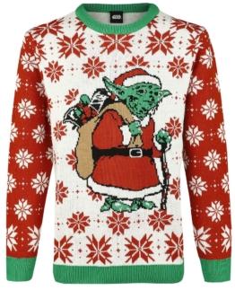 Star Wars X-Mas Yoda Weihnachtspullover