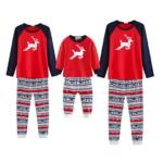 Weihnachtspyjama für die ganze Familie oder Pärchen