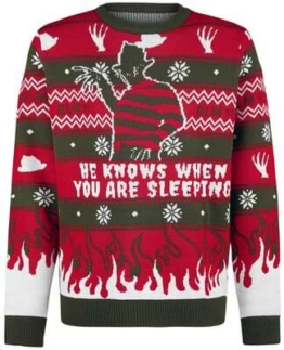 Nightmare on Elmstreet Freddy Weihnachtspullover