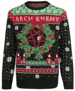 Arch Enemy Weihnachtspullover 19