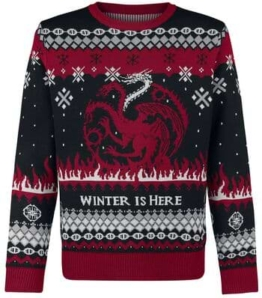 Game Of Thrones Weihnachtspullover Fire And Blood