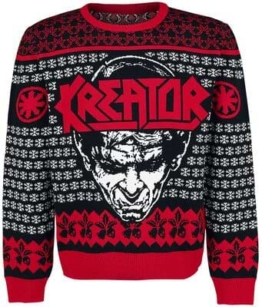 Kreator Weihnachtspullover