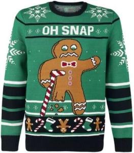 Lebkuchenmann Weihnachtspullover 19