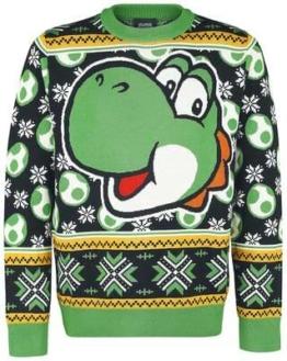 Yoshi Weihnachtspullover Super Mario